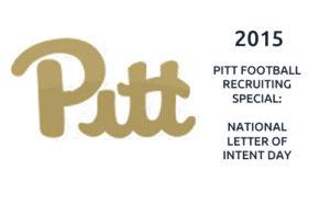 2015 Pitt Football National Letter Of Intent Day