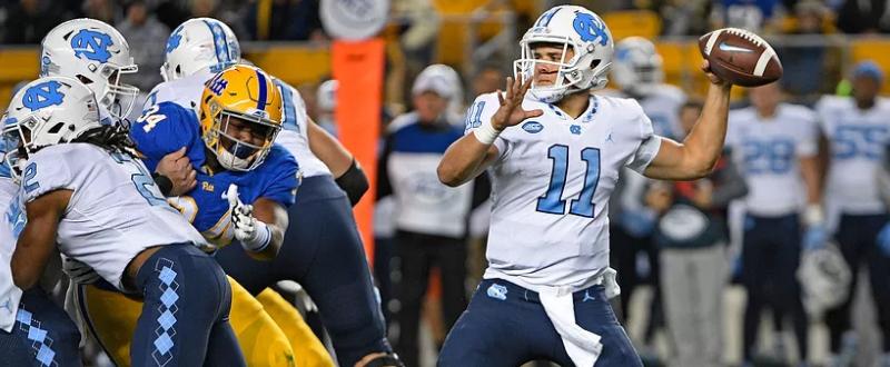 2017 North Carolina 34 Pitt 31 ACC Football