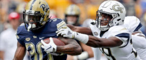 2018- Pitt 24 Georgia Tech 19 ACC Football