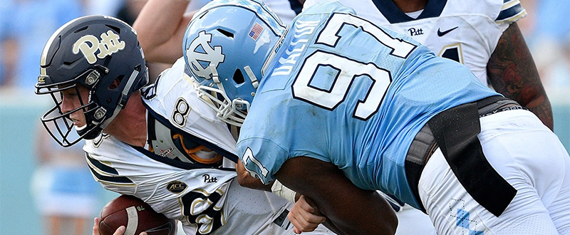 2018- North Carolina 38 Pitt 35 ACC Football