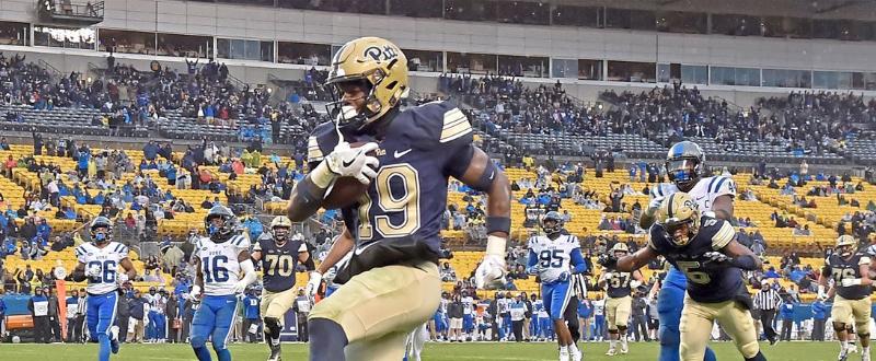 2018 Pitt 54 Duke 45 - ACC Football