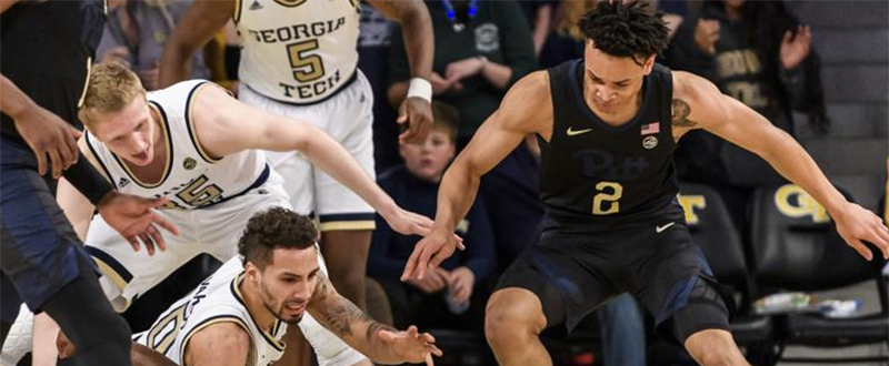 2019 - Georgia Tech 73 Pitt 65 - ACC Basketball